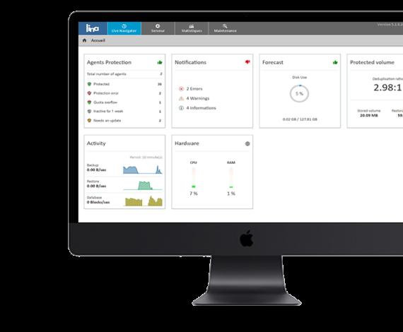 Lina - Live Navigator Monitoring